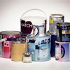 Empty paint cans / paint tins