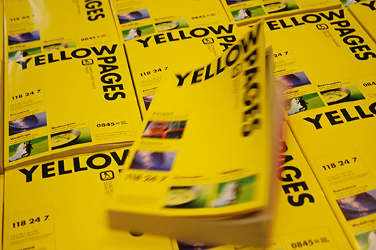 Telephone directories / phone book / Yellow Pages