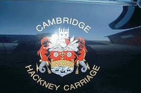 crest on a hackney carriage
