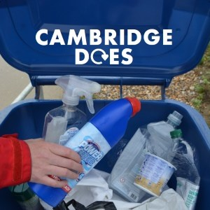 Cambridge recycles plastic!
