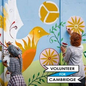 Volunteer for Cambridge fair