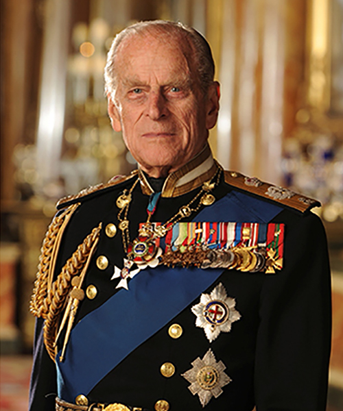Book of condolence for Prince Philip, the Duke of Edinburgh